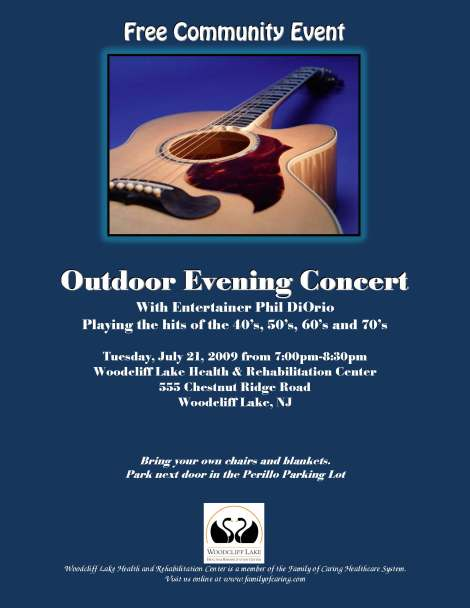 outdoor concert series